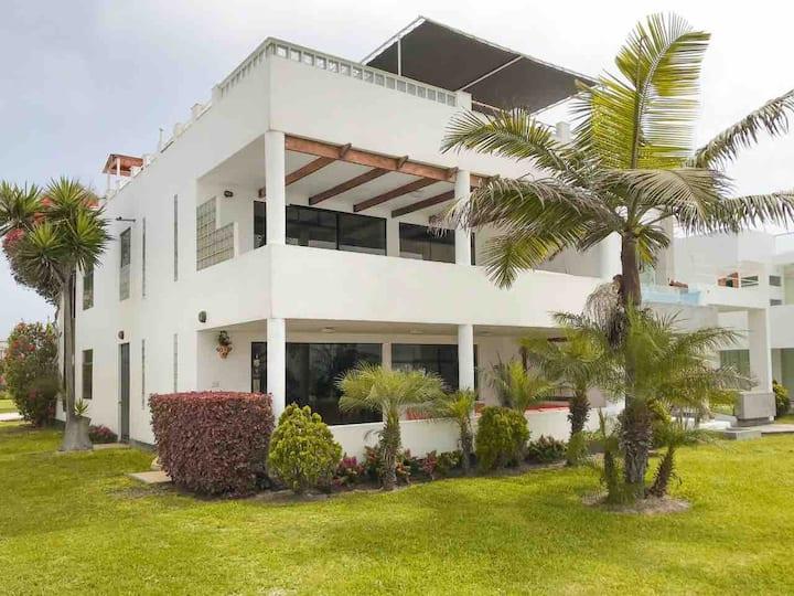 Casa completa a 5 minutos de la playa