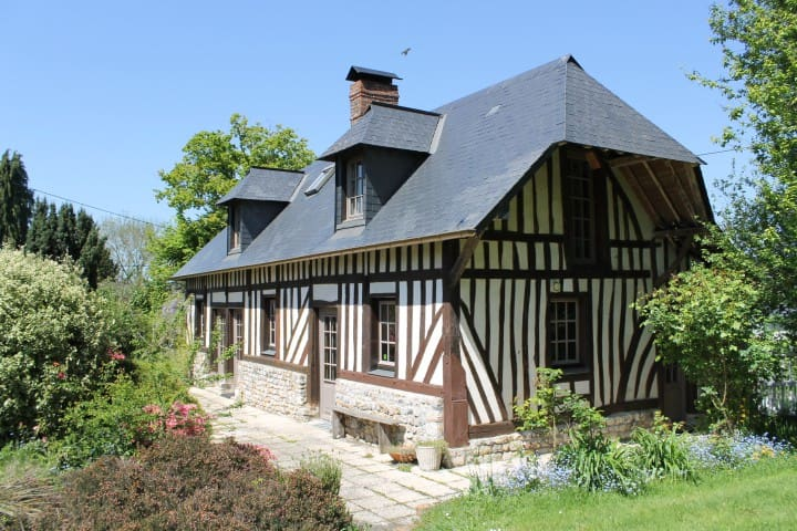 Maison normande 5 mn Honfleur - 6 pers
