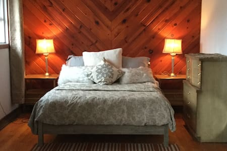 Rustic Chic Lake view cottage  50 miles from NYC - Vernon Township - Cabin
