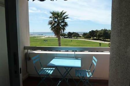 Marseille : Studio vue mer à 200m de la plage