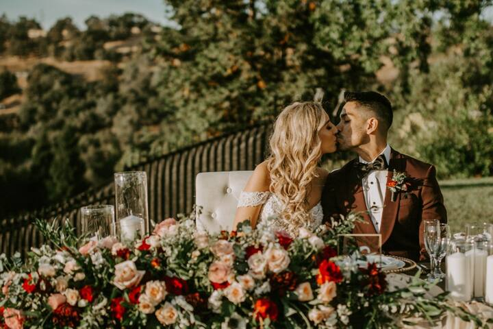 Private Auburn Wedding Villa with Stunning Views