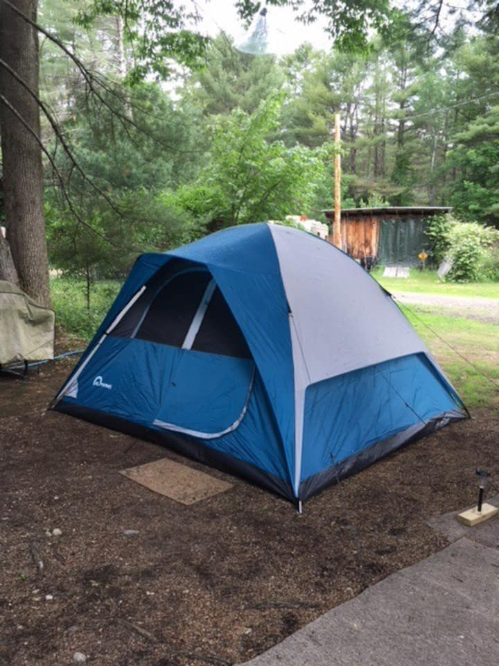 Outside Site 1  for tent, small camper