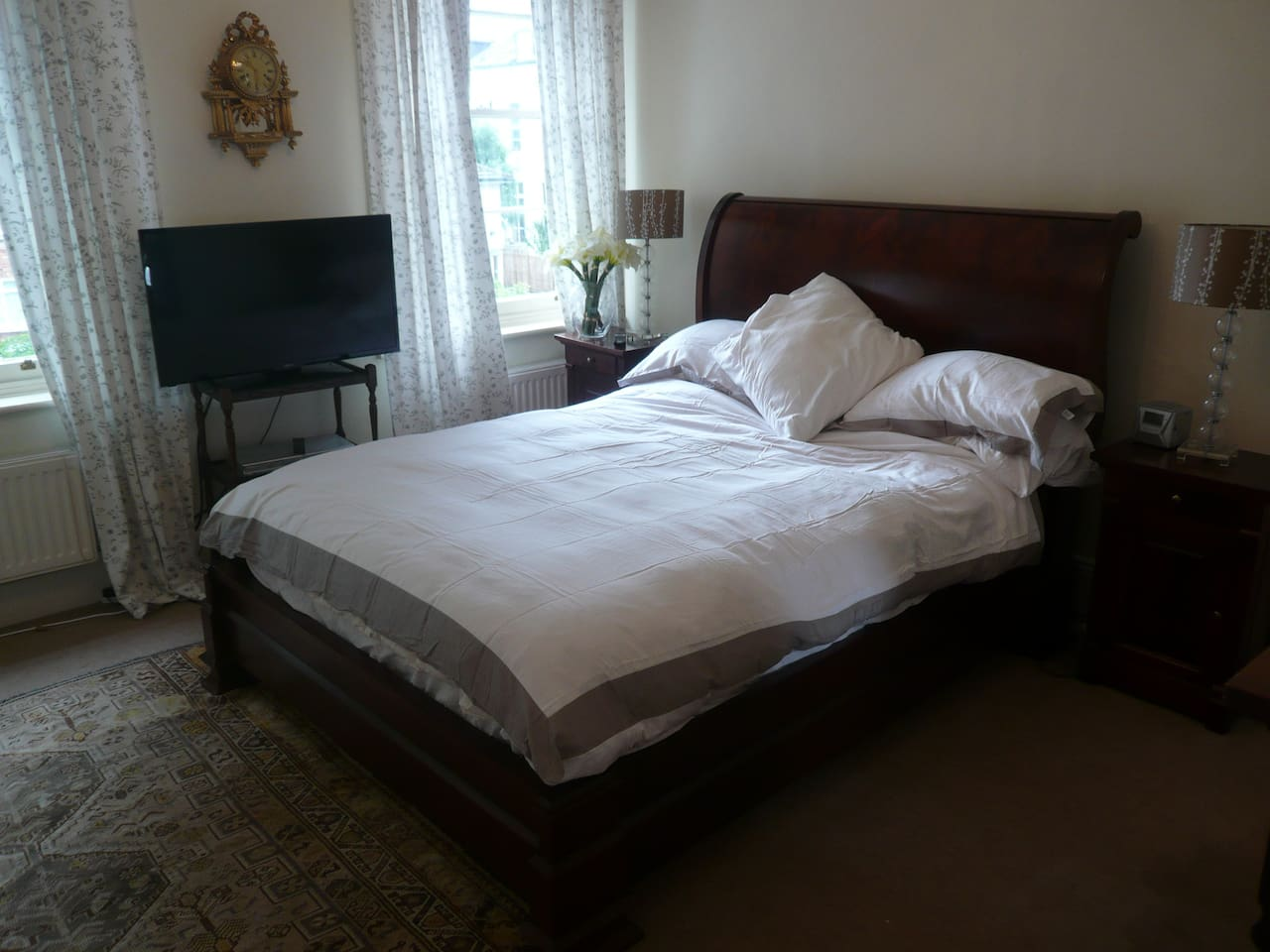 First room - luxury bed