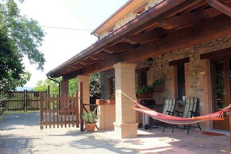 Apartment in Pennabilli with Garden, Garden Furniture, BBQ
