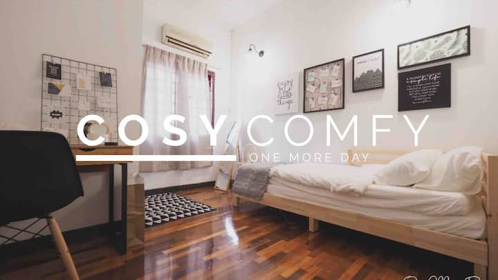 ☆ Cosy Room 02 ☆ 5 Mins Walk To Curve, MRT, IKEA