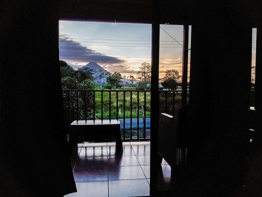 This is the view from the master room! Amazing colors and romantic feeling!