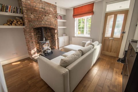 A modern converted cottage in Wilmslow