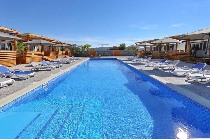 Ferienhaus, Kroatien, Beach, 100 qm Pool, 6 Pers