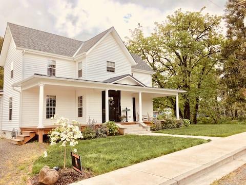 Historic Creekside Farmhouse