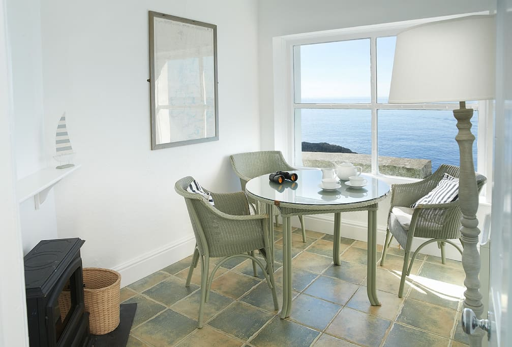 Ground floor: Observation Room, set a few steps away from the cottage