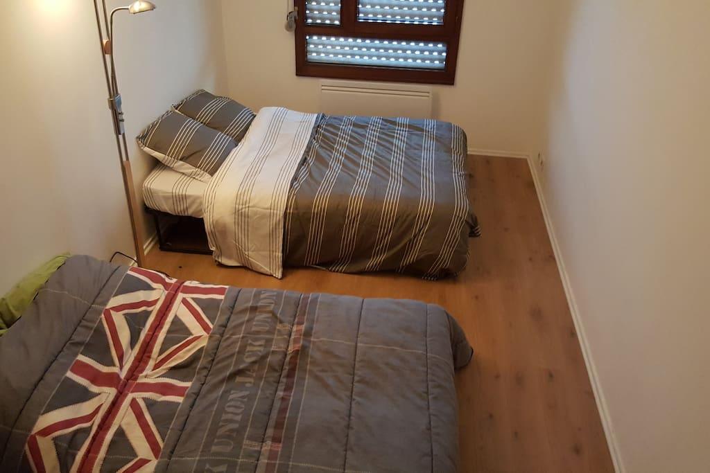 Room, 1 true bed + 1 sofa bed
