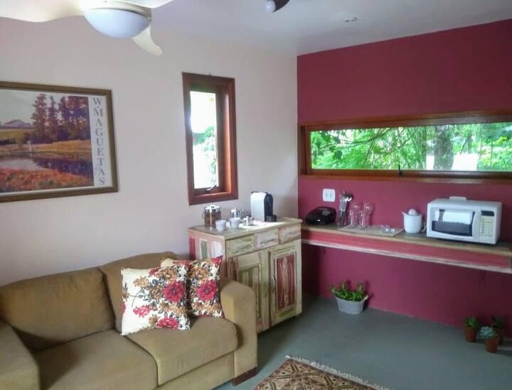 Mini Casa | espaço rústico  Wi-Fi