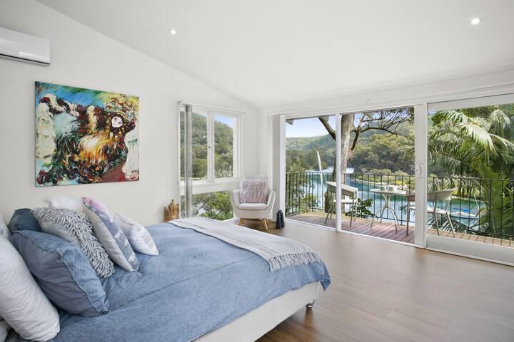 Main Bedroom to Deck & View