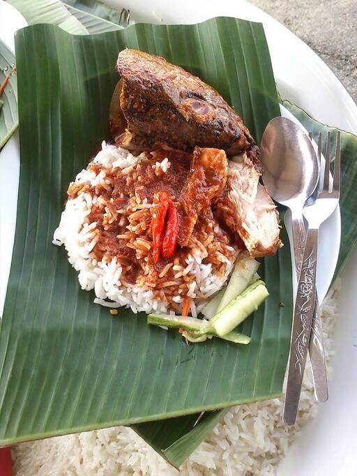 Nasi Dagang & Kepala Ikan
