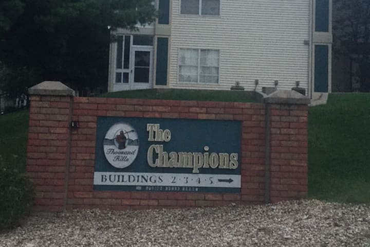 A room at The Champions