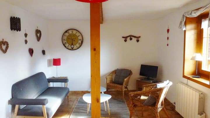 Quiet,central,sunny Appartment in an old chalet