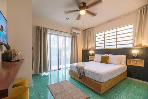 Volver a Verde 3 - Tropical Dorm, pool & terrace