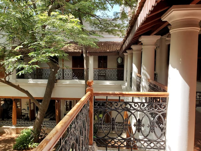 Private Room (CHETTINAD) in a Villa with Pool