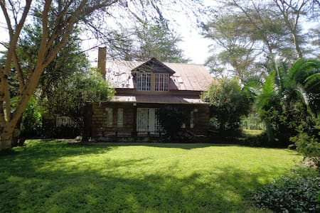 Ecoscapes House, Korongo Bay, Lake Naivasha - Naivasha