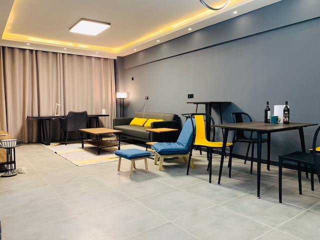 开发区恒河大厦新装两室公寓 大学/友好/市政府/广场