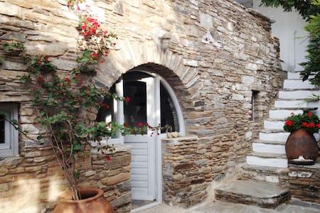 A Ktikados maison avec jolie vue. - Tinos - House