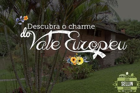 Descubra o charme do Vale Europeu no Sitio Sellin - Ibirama
