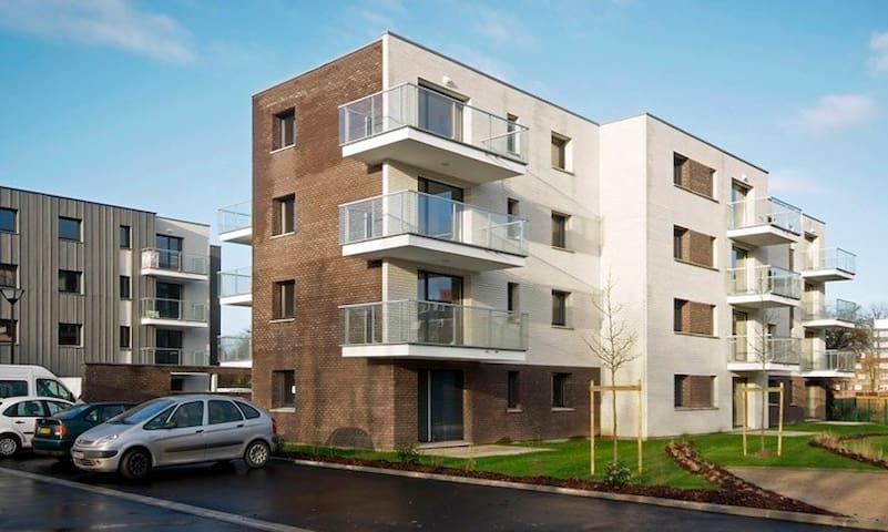 Bel appartement avec jardin - Villeneuve-d'Ascq - Lägenhet