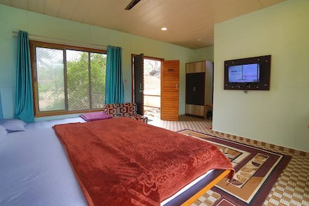 Wooden Cottage Room at Sunrise Valley Mount Abu Rajasthan