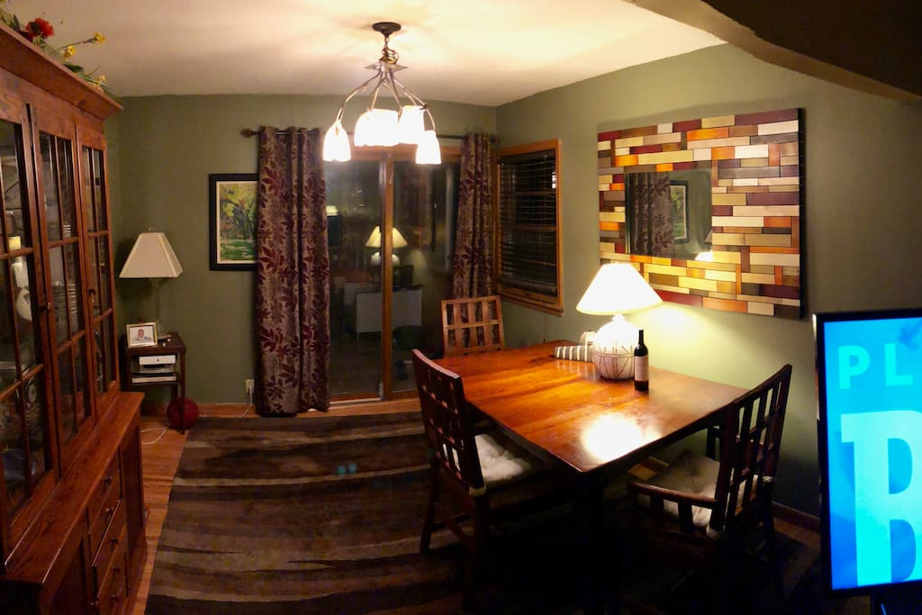 The Dining Room at Night