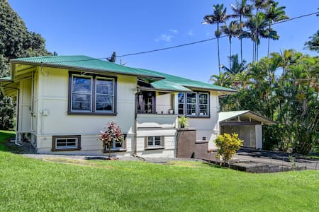 Spacious Historic Estate ~ 5 min walk to Hilo/Bay