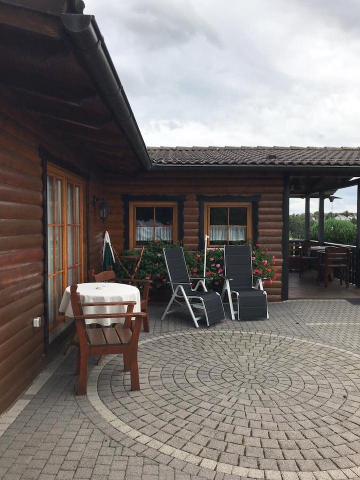 Blockhaus in der Kroppacher Schweiz/Westerwald
