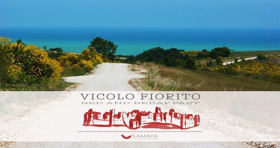 B&B Vicolo Fiorito - Camera Verde