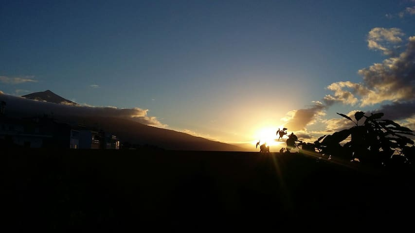 Sunset39. apartment with sea views and mount Teide