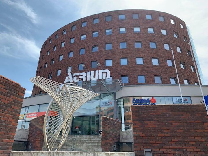 Atrium - moderní byt v centru Otrokovic