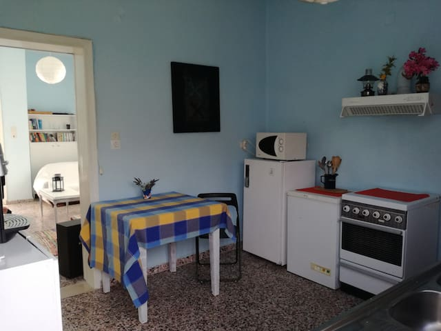 Double room near Katapola - We Shall Sea