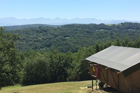 Luxury Safari Tent  (Libellule) Views Pool Hot tub