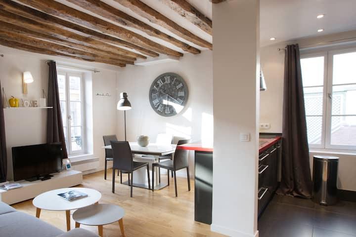 Proc 2F- Appart 2 p. de 45 m² pour 4, 15 min Paris