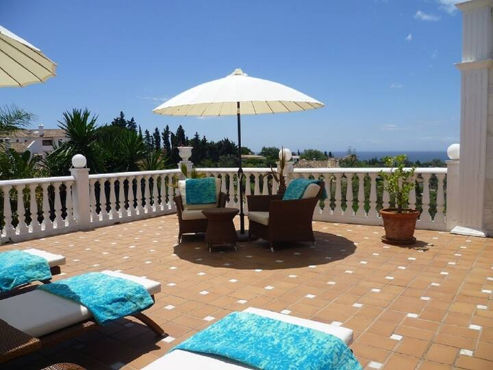 14716 - QUALITY VILLA CLOSE TO BEACH – MARBELLA