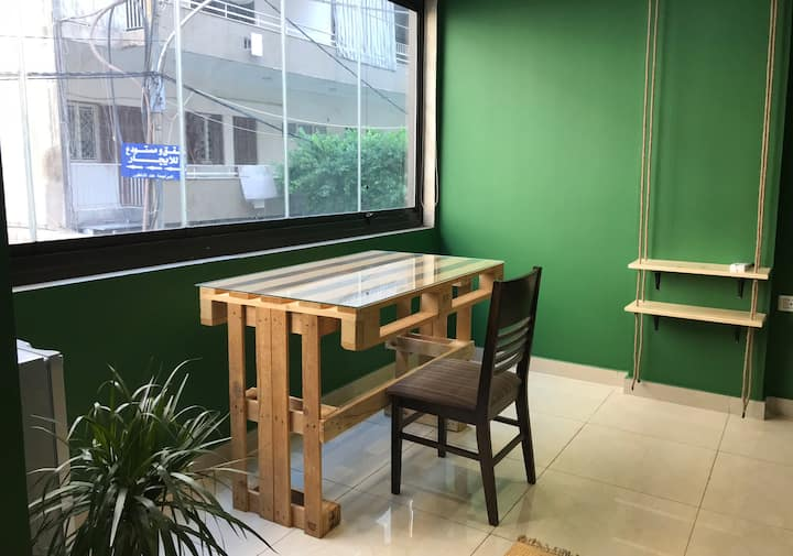 Rain Forest Room in a 3 floor guest house