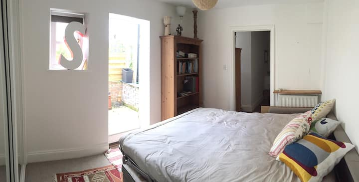Ensuite room with private courtyard