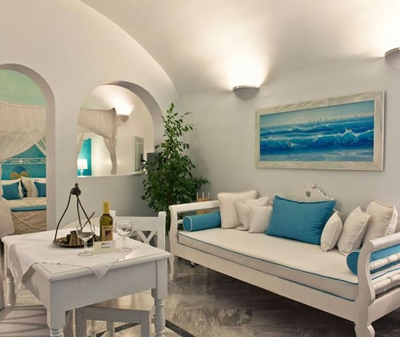Junior Suite with Jacuzzi and Caldera View B - Imerovigli - Apartment