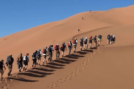 erg chibbe camp  Merzouga - Quad Camel ATV - Hassilabied - Zelt