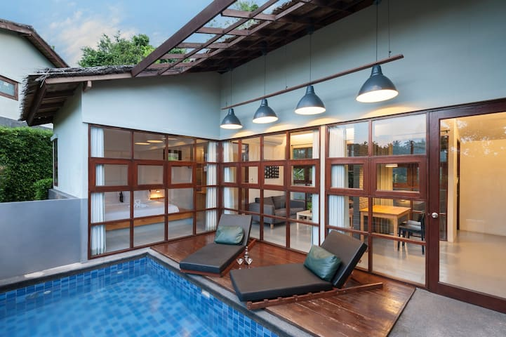 花筑·苏梅岛泳池别墅酒店9 Floral Hotel Pool Villa Koh Samui