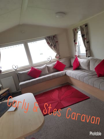 Lovely caravan home from home