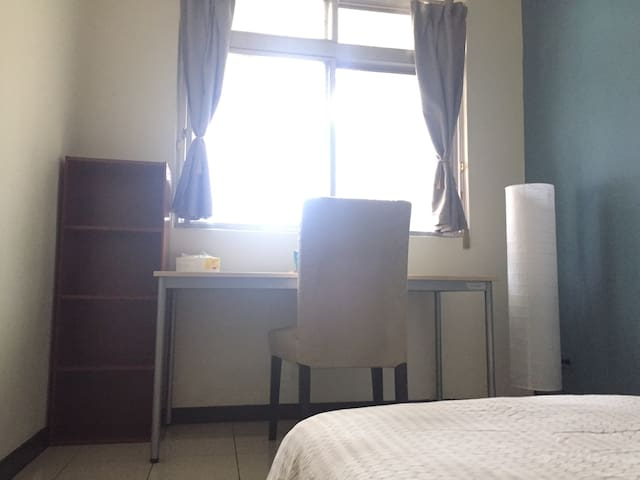 1 Min MRT Houshanpi station-Double room/長租優惠