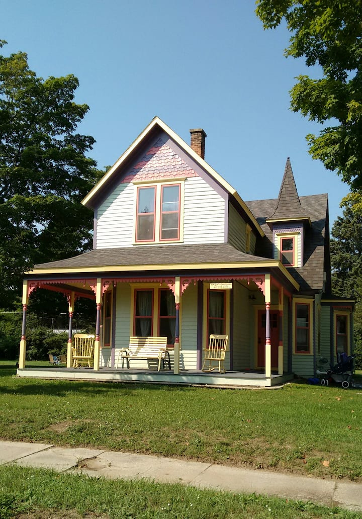 Victorian House near Lake Michigan