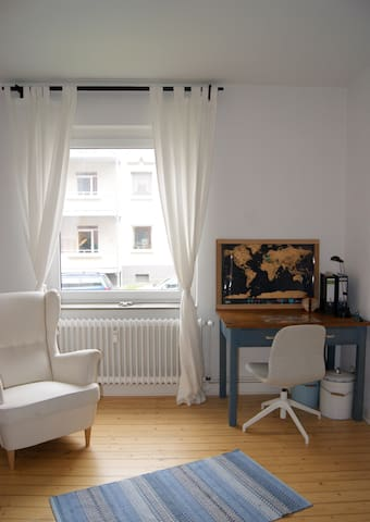 cosy living room, 20m² - Braunschweig - Apartment