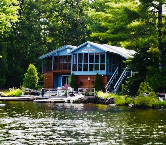 Six Mile Lake Sanctuary Cottage