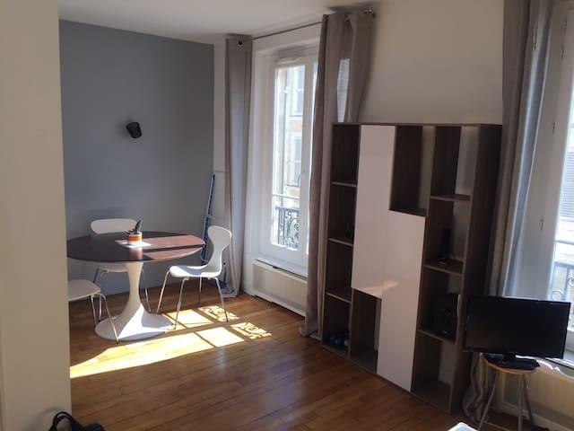 Lumineux appartement proche Montmartre/Pigalle