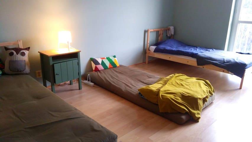 Útulný byt s výhľadom na Staré mesto a Slavín
